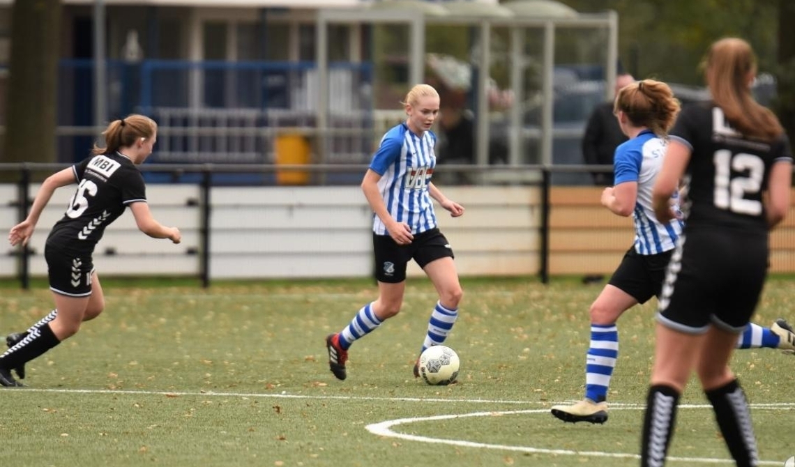Rosa in actie bij FC Eindhoven.