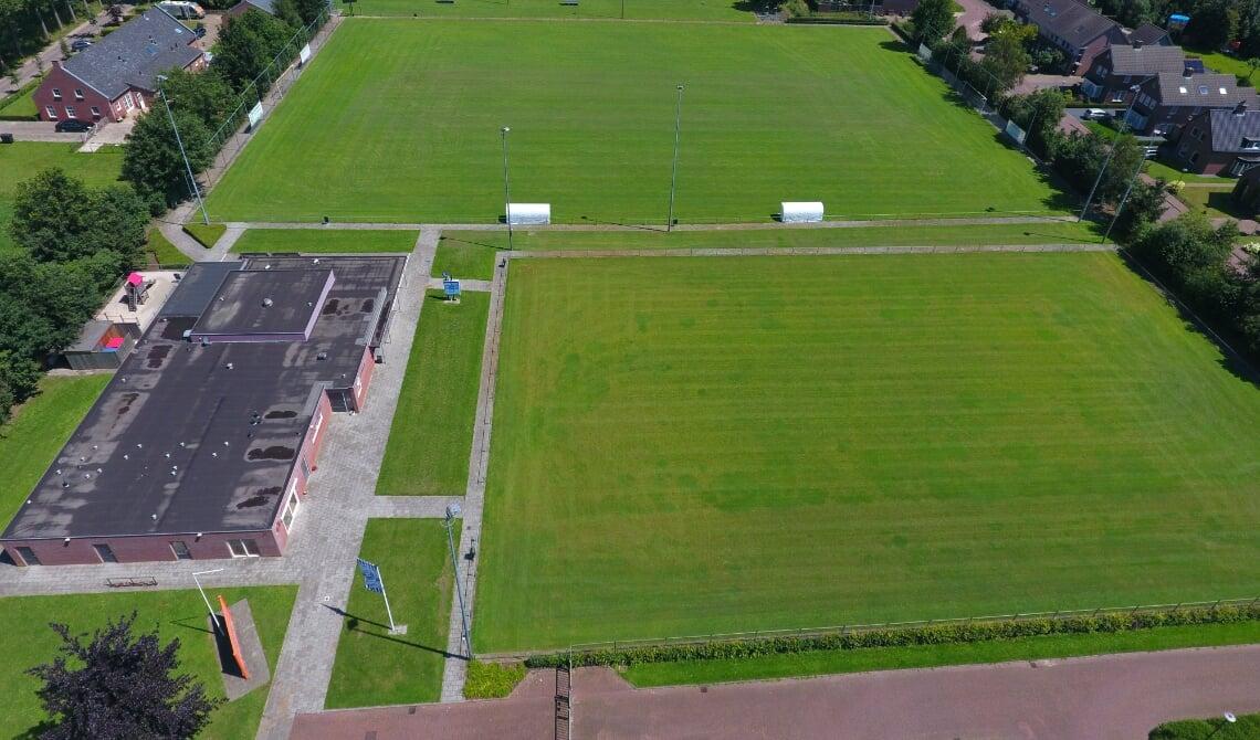 <p>Het sportpark van Ollandia en Odisco.</p>
