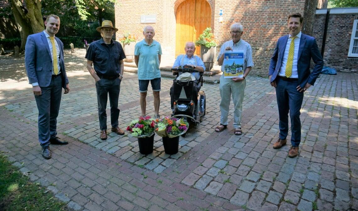v.l.n.r.: Robbert van Corven, Leo van Lieshout, Jan van Zutphen, Antoon Buiting, Martien van Gastel en Mark van Herpen.