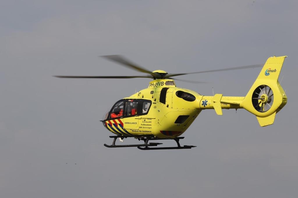 Trauma helikopter Foto: 112nieuwsonline.nl  © MooiRooi