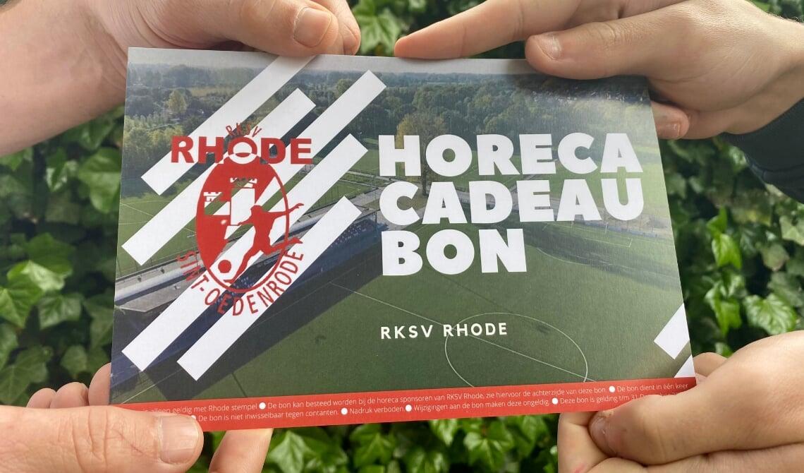 <p>De horeca cadeaubon van Rhode</p>