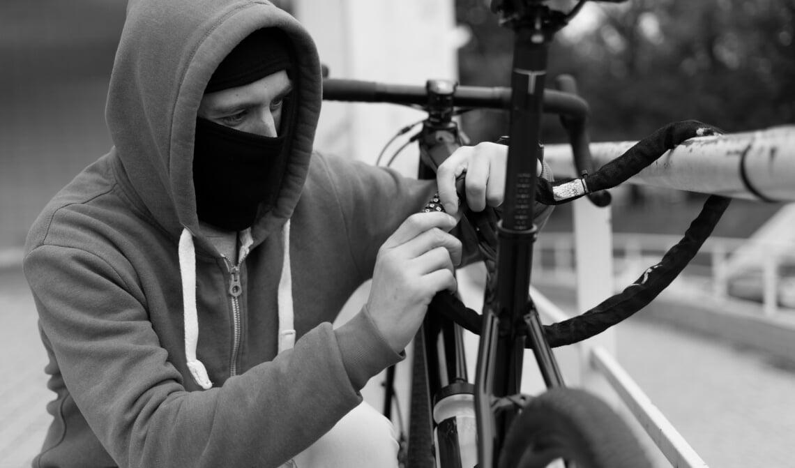 fietsendief diefstal