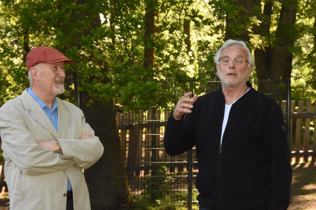 Jos Cuypers (l) en Rinus van der Heijden (r) Foto: Hans van den Wijngaard © MooiRooi