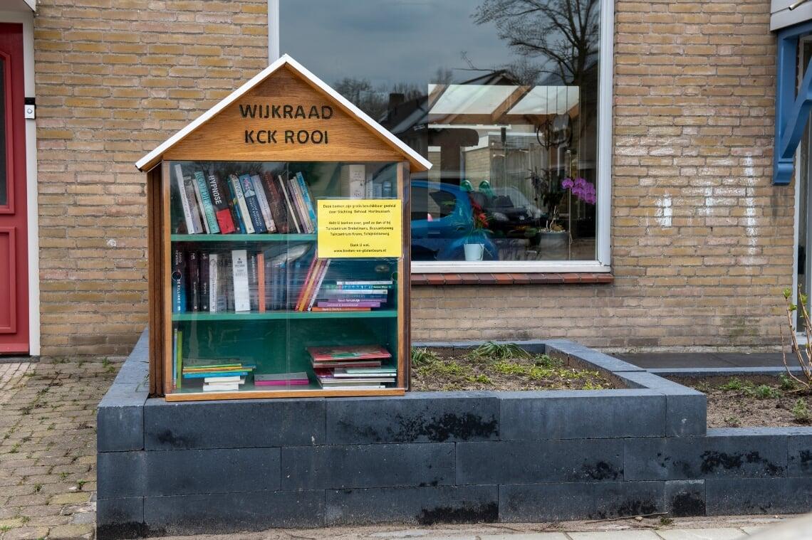 <p>In de Beatrixstraat staan twee zerfboekenkasten.</p>