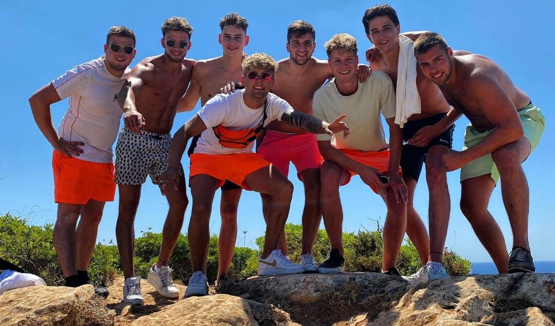 <p>Vrienden op pad in Mallorca</p>