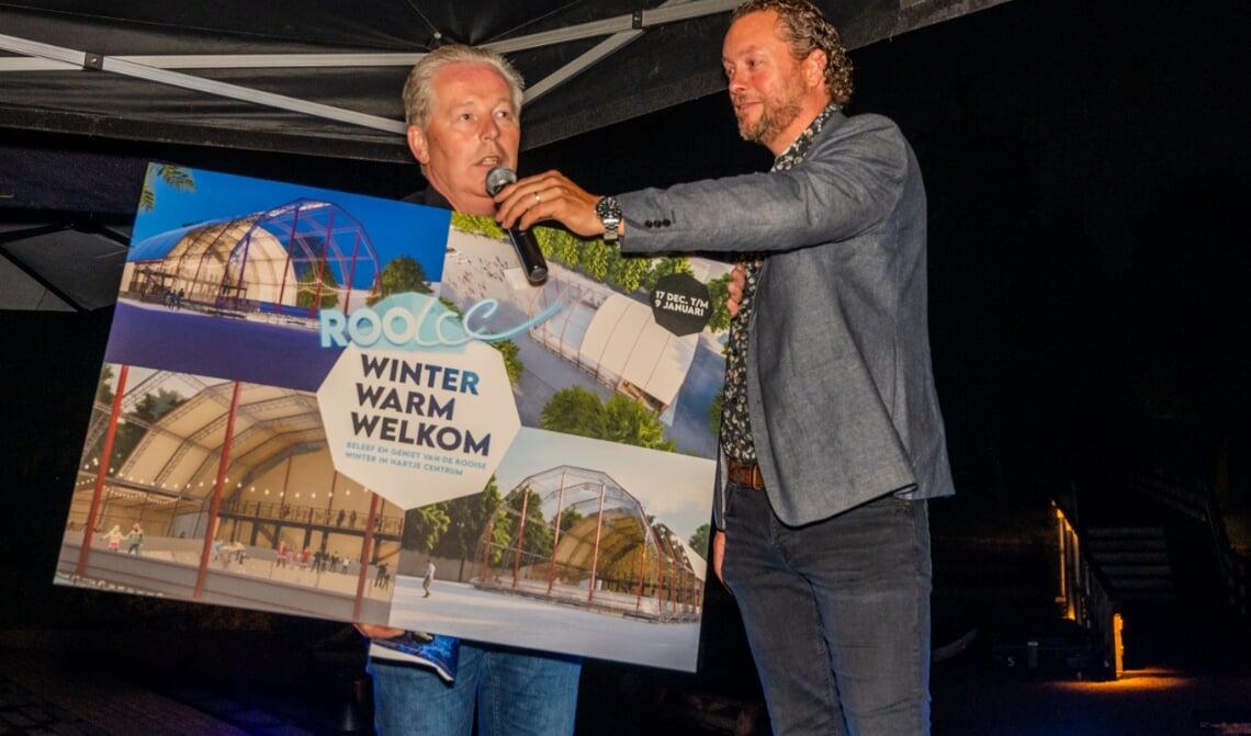 <p>Fred van Rooij kreeg de kans om de ondernemers enthousiast te maken.</p>
