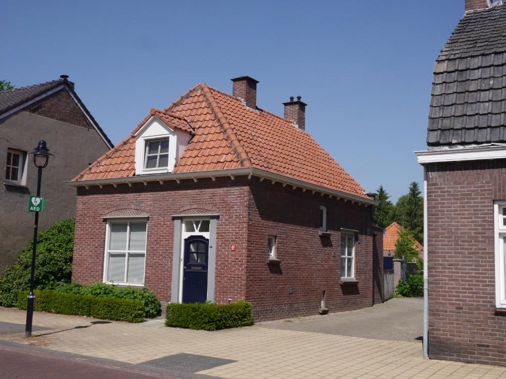 Huis familie van de Wetering. Eerschotsestraat A340 (nu 23) Foto:  © MooiRooi