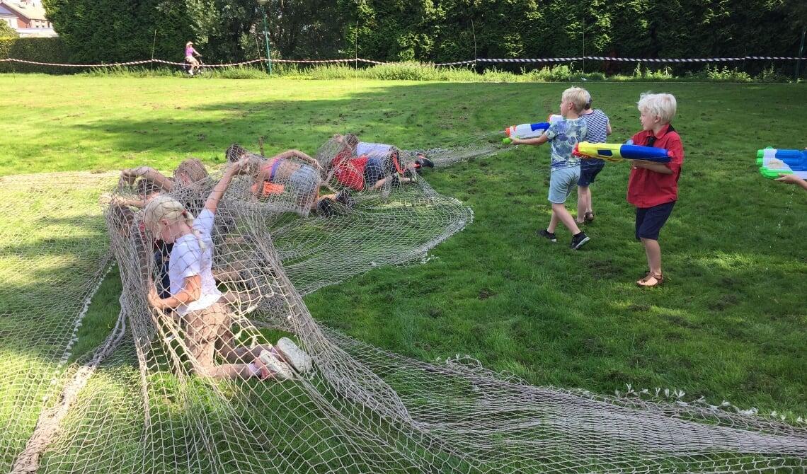 <p>De kinderen mochten allerlei leuke spellen spelen.</p>