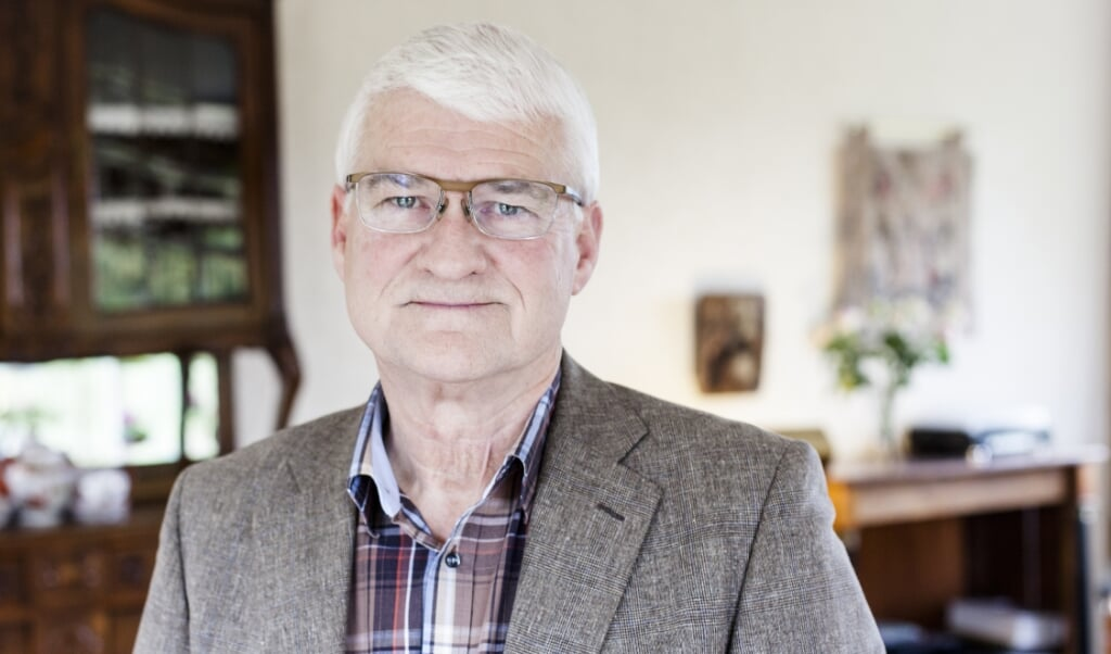 Professor Frank van der Pol is niet langer lid van de Gereformeerde Kerken vrijgemaakt.  (beeld Dick Vos)