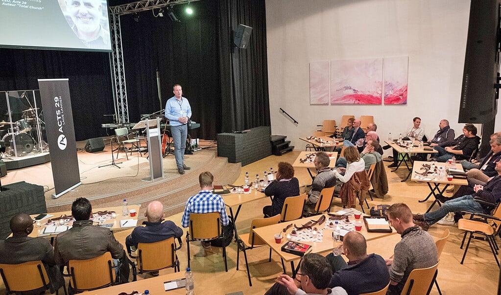 De Brug in Eindhoven is de Nederlandse link van Acts 29.  (beeld Niek Stam)
