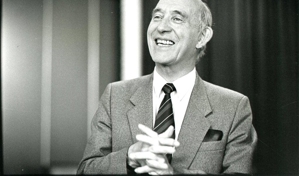 Prof. dr. C. Graafland  (beeld Jaco Klamer)