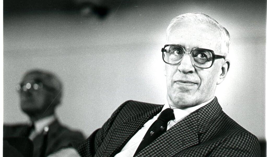 Prof. drs. J.P. Lettinga  (beeld nd / Jaco Klamer)