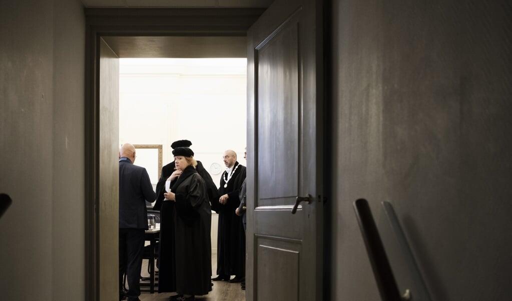 De opening van het academisch jaar van de Theologische Universiteit Kampen in 2018.  (beeld Dick Vos)