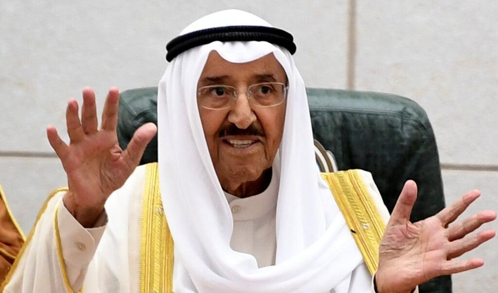 Sjeik Sabah al-Ahmad al-Sabah, vorig jaar.  (beeld epa)