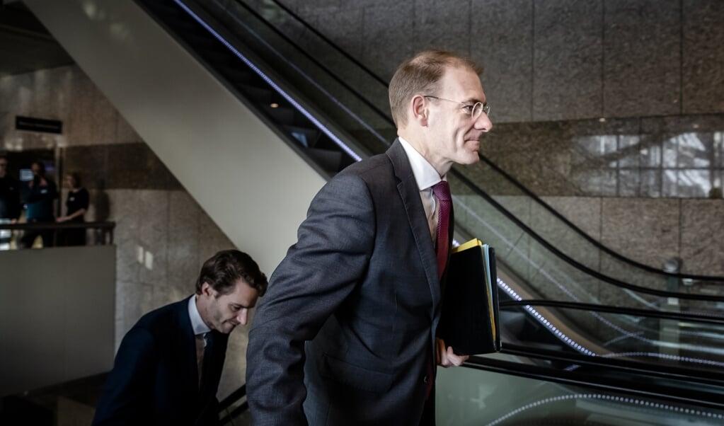Staatssecretaris Menno Snel (Financiën) stapt op vanwege de toeslagenaffaire. Hij voelt zich niet meer gesteund door de Tweede Kamer.  ( beeld anp / Bart Maat)