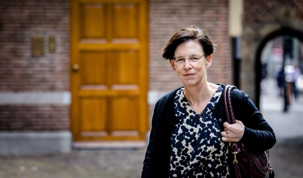 CPB-directeur Laura van Geest  ( beeld anp / Bart Maat)