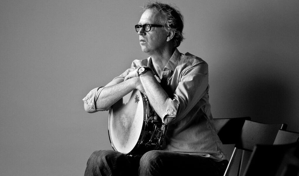 Jazzdrummer Joost Lijbaart: 'Ik wilde vooral een puur en kwetsbaar album maken.'  (beeld Paul Bergen)