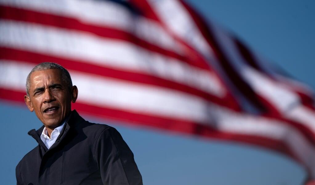 Voormalig president Barack Obama  (beeld afp / Elijah Nouvelage)