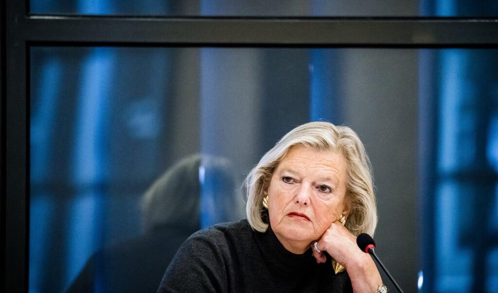 Staatssecretaris Ankie Broekers-Knol: 'Ik heb enorm de pee in.'  (beeld anp / Bart Maat)