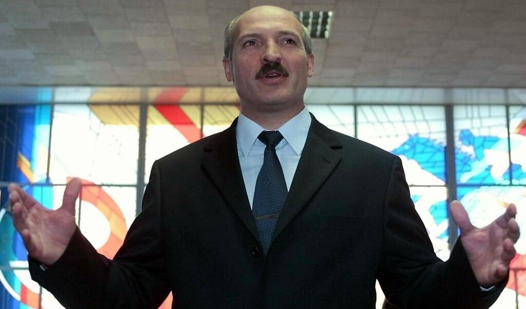 Alexander Loekasjenko  (beeld epa Photo Epa/sergei Supinski/hh)