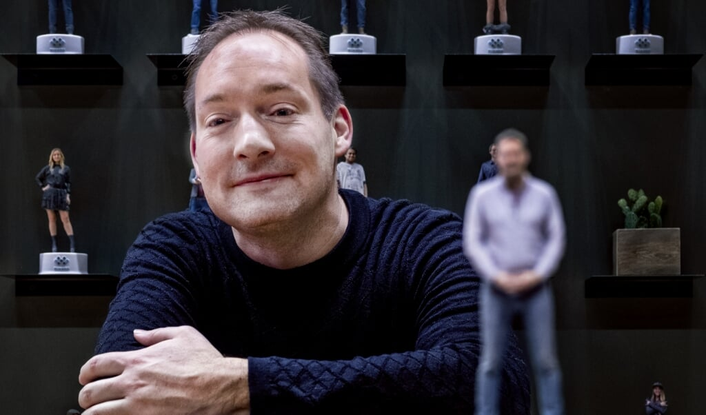 Directeur en oprichter Jurjen Katsman van Nixxes.  (beeld Raymond Rutting)