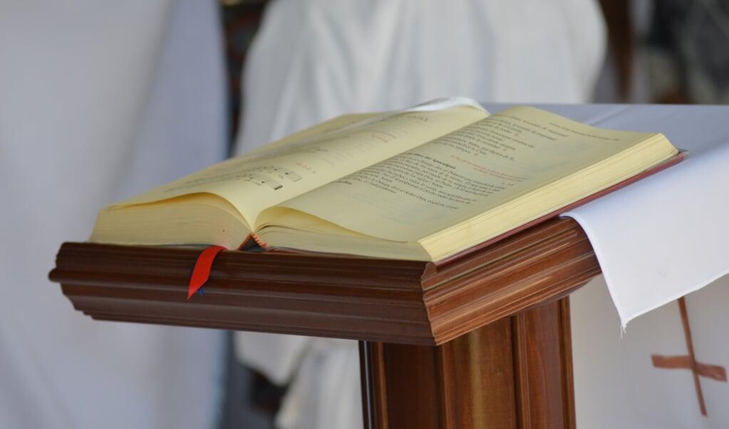 Bijbellezingen in de rooms-katholieke eucharistie  (beeld Cathopic)