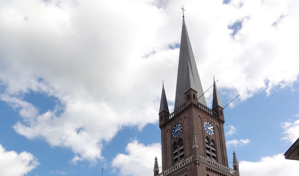 De Ewaldenkerk in Druten  (beeld wikipedia)