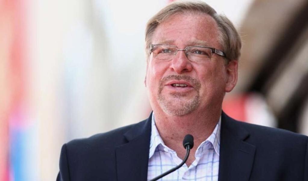 Voorganger en auteur Rick Warren   (beeld Instagram)