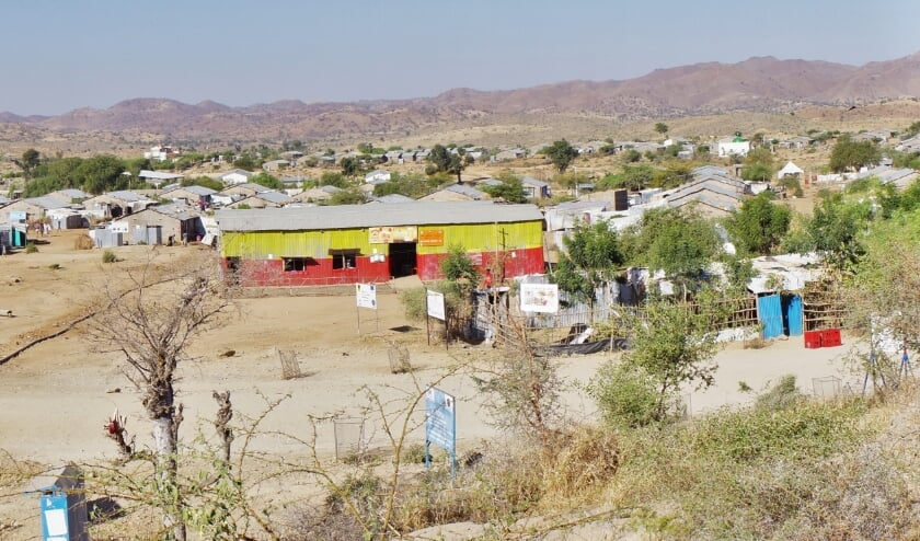 Er is een ZOA-medewerker vermoord terwijl hij aan het werk was in vluchtelingenkamp Hitsats in Tigray, aldus de Nederlandse hulporganisatie.  (beeld ZOA)