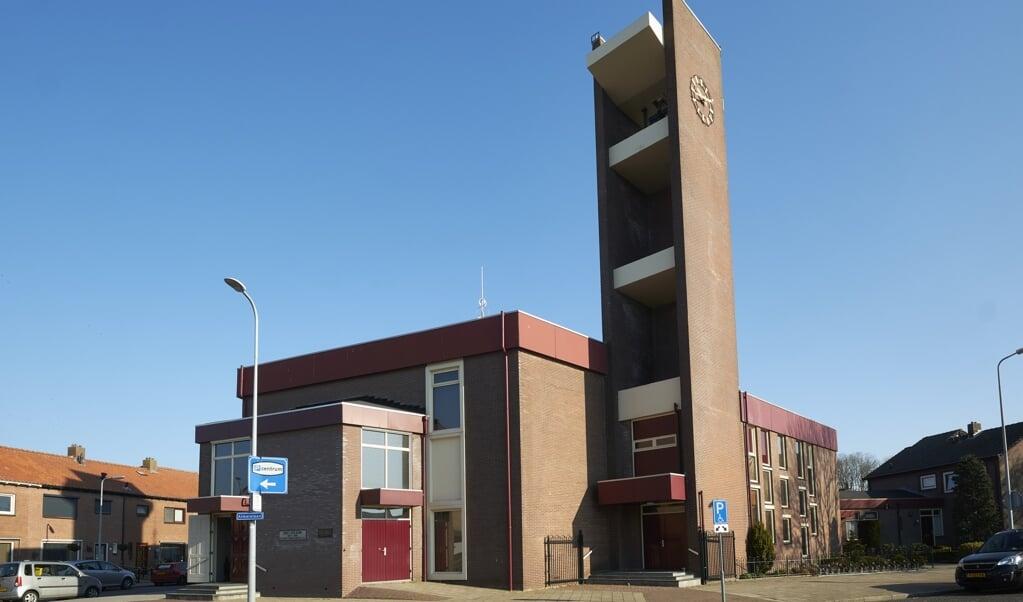 De christelijk-gereformeerde Eben-Haezer Kerk op Urk.  (beeld Dick Vos)