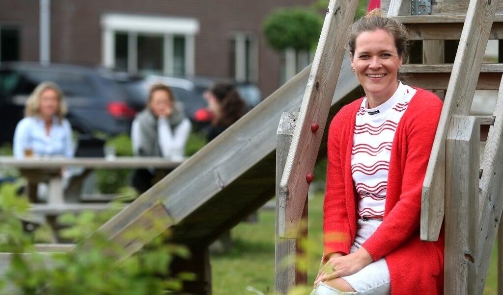 Assen. Wendy Oude Veldhuis, vergadering over nieuwe speeltuin. Voor rubriek ' Het Vergadercircuit'.  (beeld Persburo Melissen)