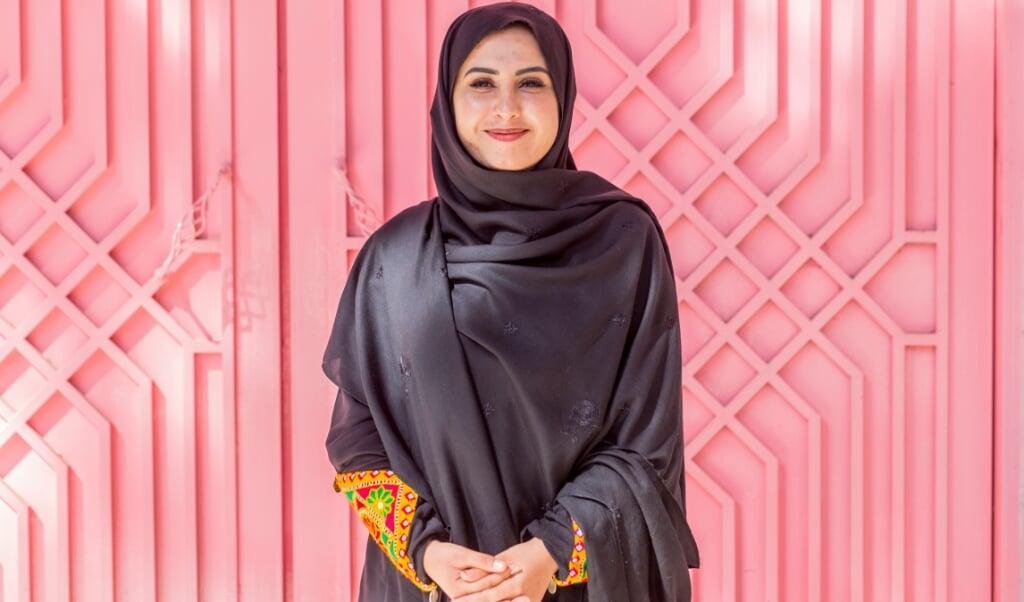 Gulali Mohammadi: 'Ik hoop dat er duurzame vrede komt. Maar ik maak me zorgen of de taliban echt bereid zullen zijn de rechten van vrouwen te respecteren.'  (beeld Noel van Bemmel)