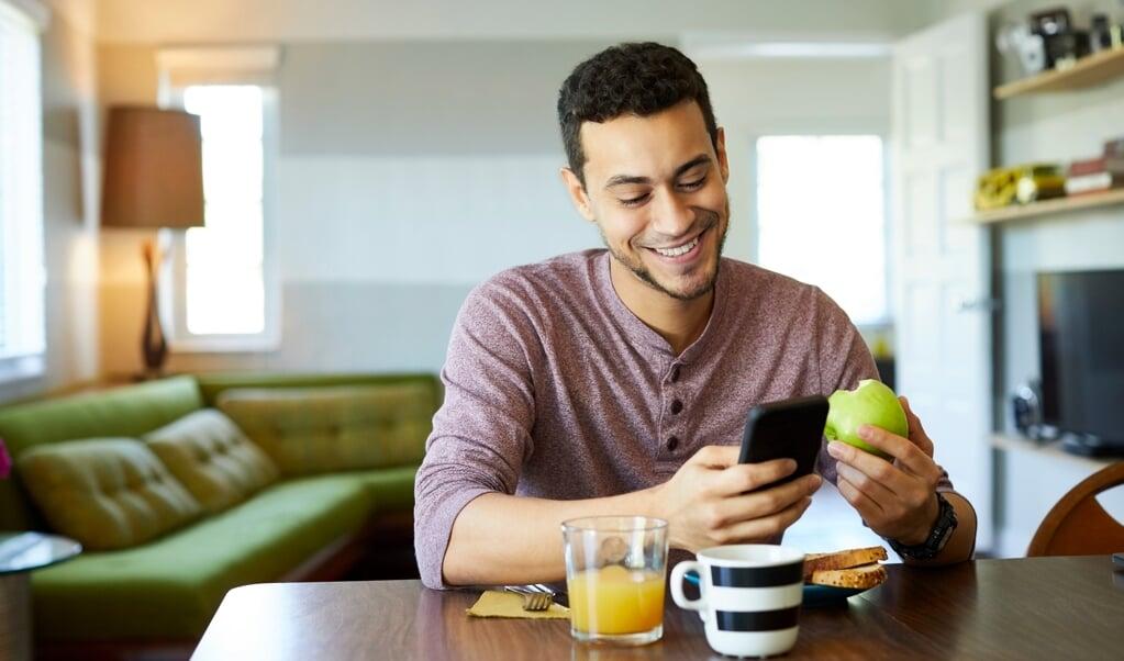 Vooral foto's van gezond eten die veel likes hebben gekregen, zorgen ervoor dat mensen gezonder gaan eten.   (beeld istock)