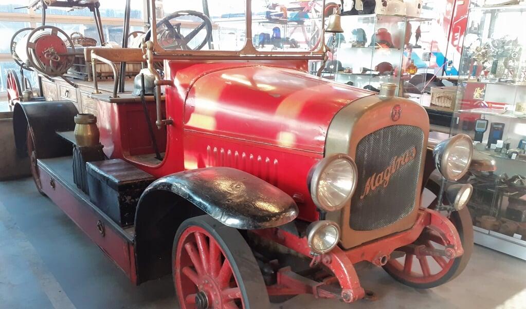 Magirus-brandweerauto uit 1928.  (beeld nd)