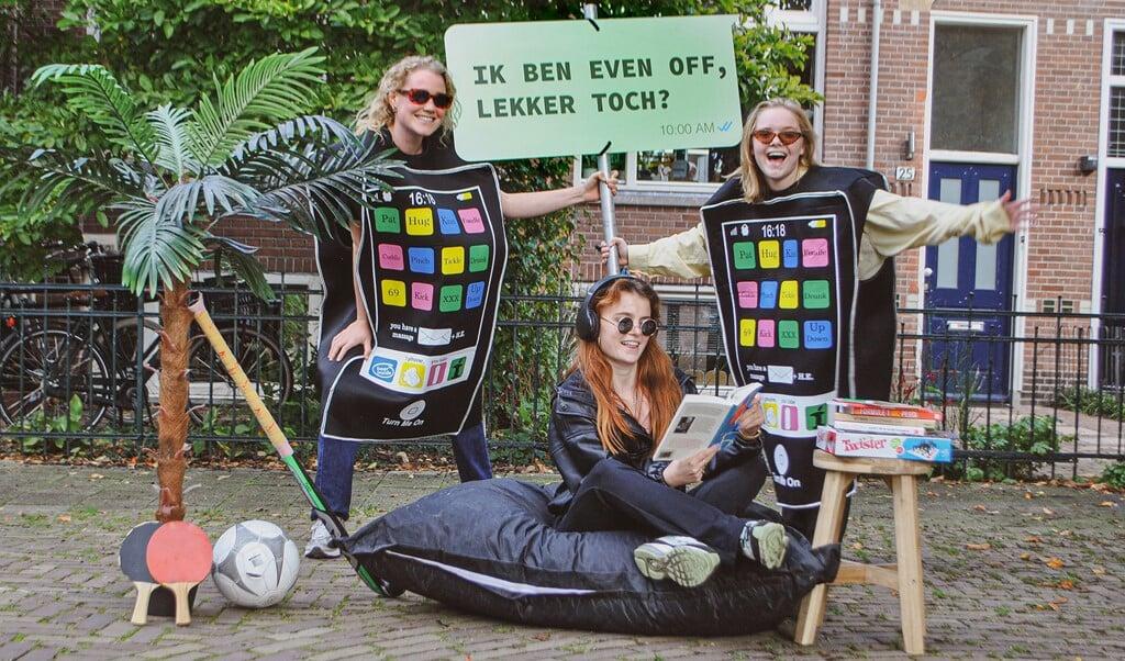 'Jongeren willen vaker offline.'  (beeld teamalert)