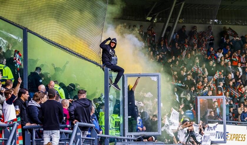 Omroep Gelderland is het voetbalgeweld beu en zet geen verslaggevers meer in