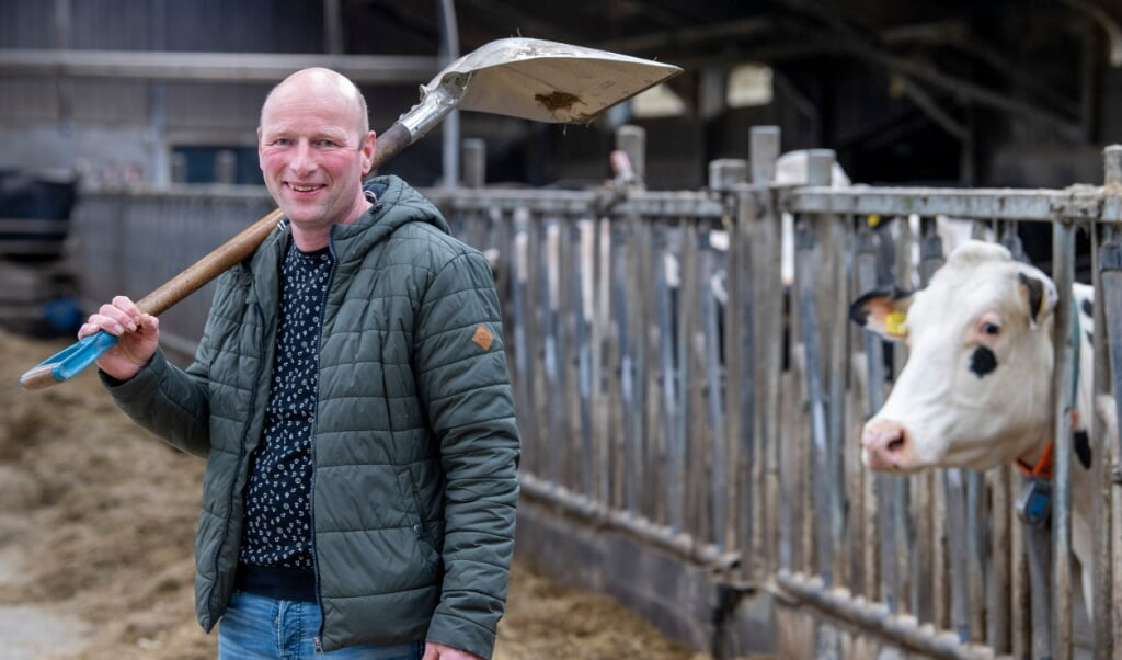 Het CDA is een partij van stedelingen geworden, vindt boer Henk Redder.  (beeld Frank Uijlenbroek)