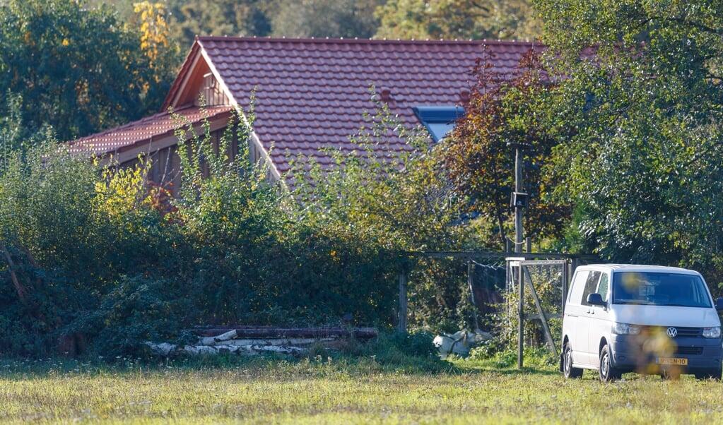 De boerderij  in Ruinerwold.  (beeld anp / Wilbert Bijzitter)