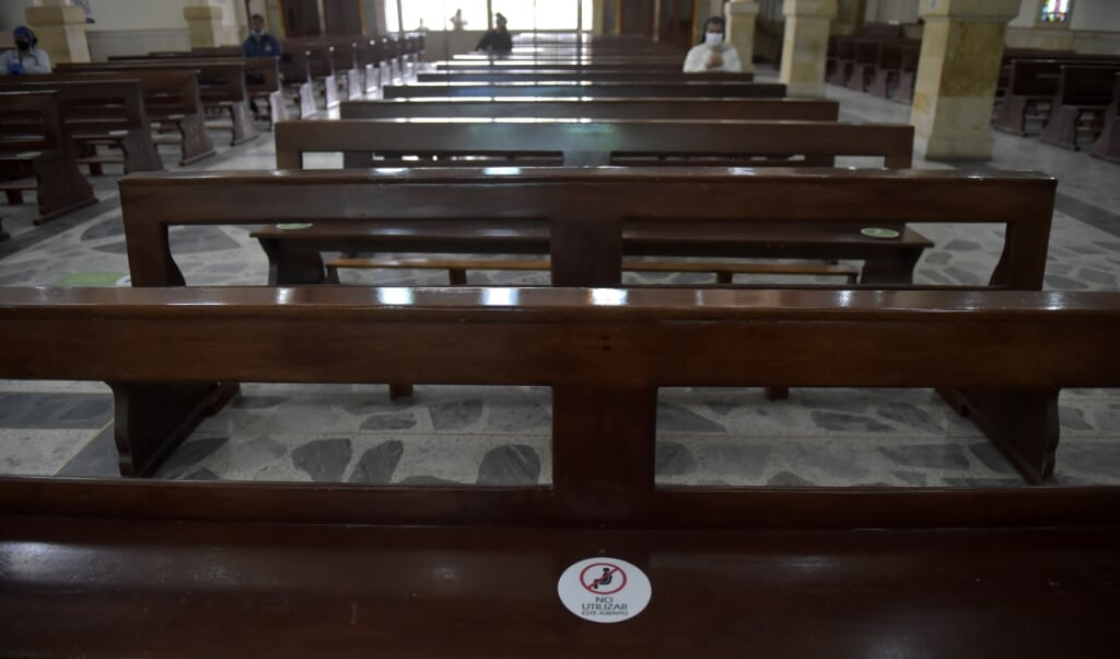Jonge Amerikaanse evangelicalen verlaten massaal de conservatieve kerk.   (beeld AFP)