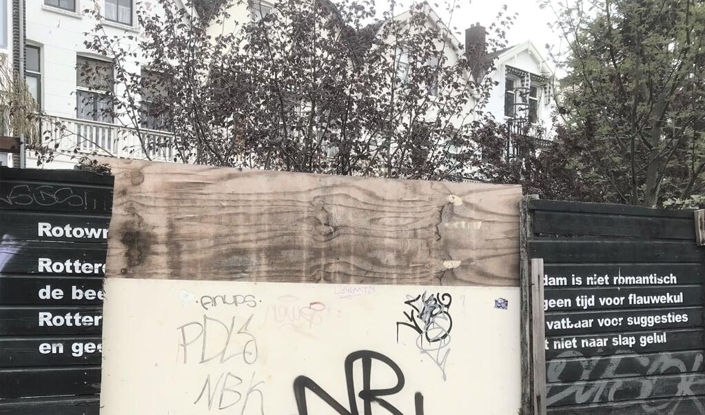 Gedicht aan de Proveniersstraat.  (beeld Johan Bakker)