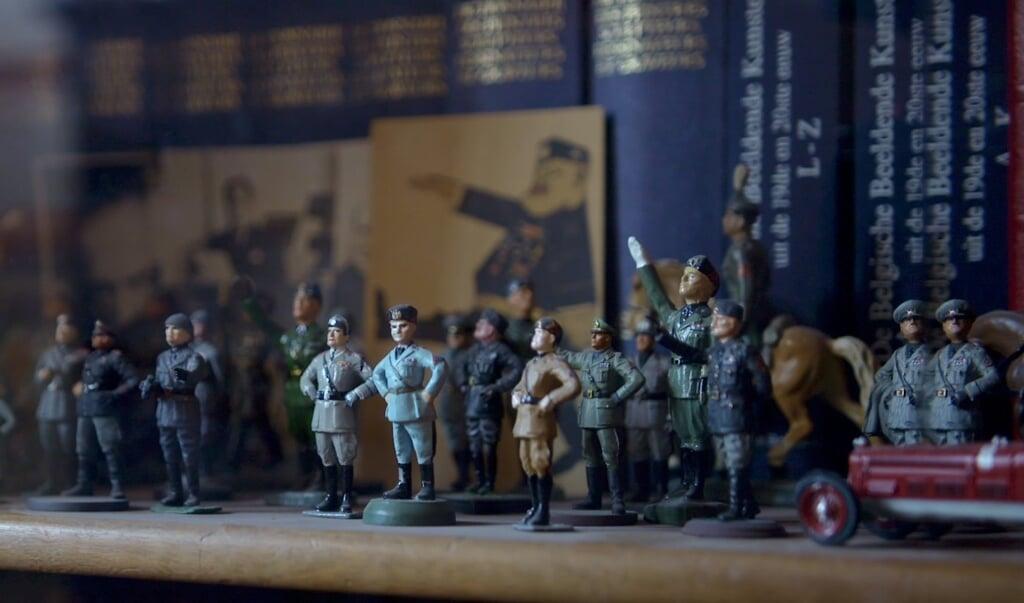 Bouwman: 'Fascisten zijn autoritaire figuren met heilige principes.'  (beeld eo)