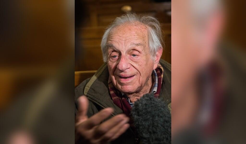 Albert Arie, een van de laatst overgebleven Joden in Egypte.  (beeld René Clement)