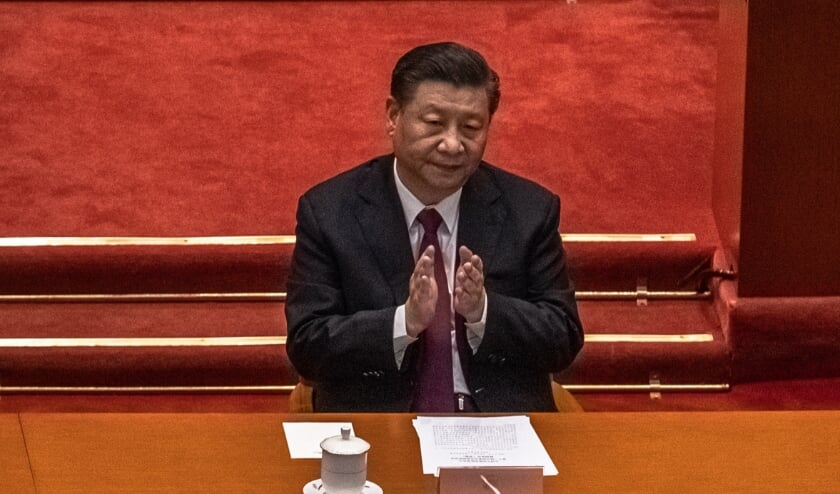 Xi Jinping, president van China  (beeld epa / Roman Pilipey)