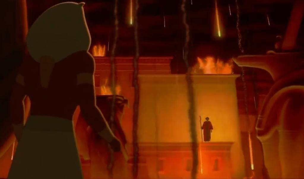 Still uit de Disney-film The Prince of Egypt.  (beeld The Prince of Egypt)