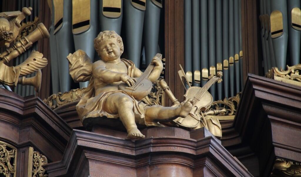Het orgel van de Evangelisch Lutherse Kerk in Den Haag.  (beeld Evangelisch Lutherse Kerk Den Haag)
