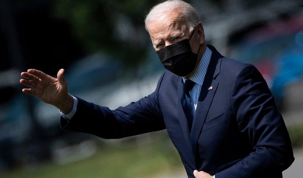 President Joe Biden wil weten of het covid-virus toch uit een Chinees laboratorium kan zijn ontsnapt.  (beeld afp / Brendan Smialowski)