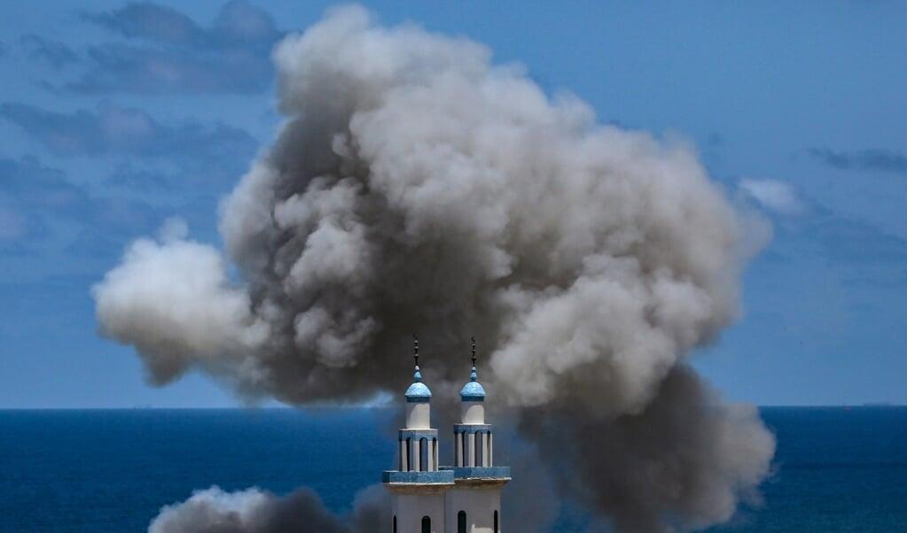 De geheime diensten spelen een grote rol bij de Israëlische aanvallen en liquidaties in Gaza.  (beeld epa / Mohammed Saber)