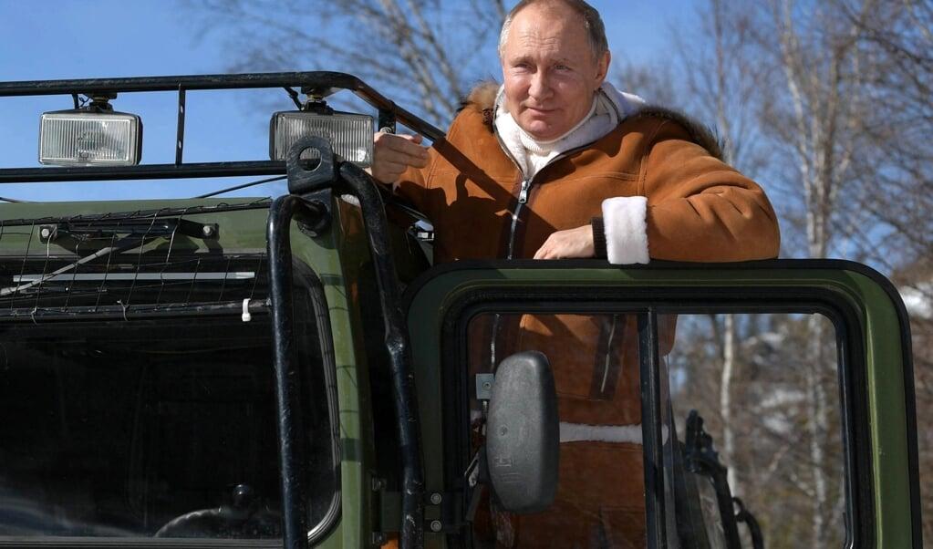 De Russische president Vladimir Putin.  (beeld afp / Alexey Druzhinin)