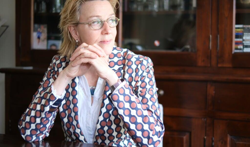 Sandra Meeuwsen, sportfilosoof.  (beeld Dick Vos)