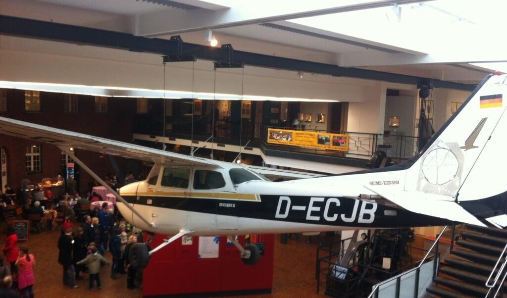 De Chesna waarmee Rust naar de Sovjet-Unie vloog, is te zien in het Deutsches Technikmuseum Berlin.  (beeld wikipedia)